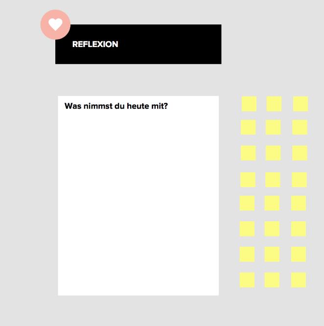 Online Workshop Feedback Whiteboard Tool